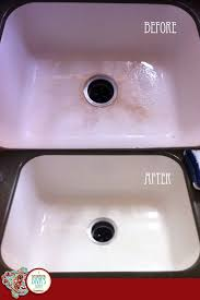 White Enamel Kitchen Sinks A Decorating Divas Diary Dear Diarymy Embarrassing Kitchen Sink