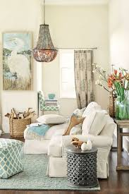 Anchor A Coastal Living Room With Furniture