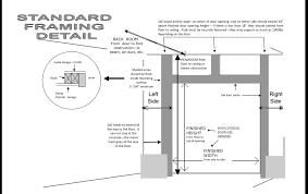 garage door framingSide Folding Garage Door Impressive Home Design