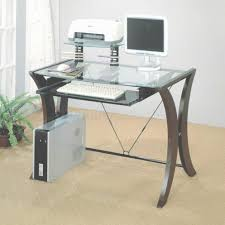 top office desks. Glass Top Office Desk \u2013 Table Intended For Desks (View 15 Of