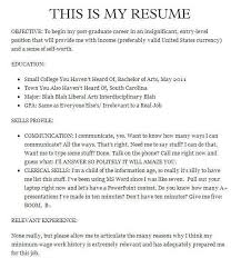 Funny Resume Amazing 28 Of The Funniest Resumes And CVs You'll Ever See