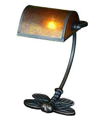 exciting brass bankers desk lamp in vintage style
