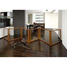 folding wooden dog gates designs