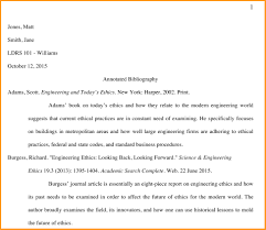 Annotated Bibliography Example 2013 A Complete Guide To The Mla