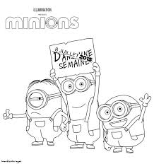 Coloriage Les Minions Paper ミニオンズ イラストミニオンスケッチ