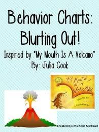 Behavior Chart Blurting Out