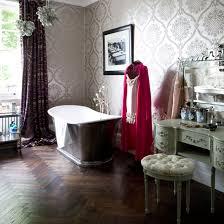 Retro Bathrooms Fascinating Bathroom Flooring Ideas Ideal Home