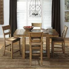 extendable dining room table by signature design by ashley. signature design by ashley krinden counter height extendable dining table \u0026 reviews | wayfair room