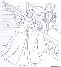 Coloriage Cendrillon Princesse 18 Dessin