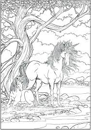 Coloring Pages Unicorn Unicorn Coloring Pages Printable For Girls A