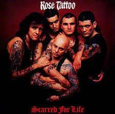 <b>ROSE TATTOO - Scarred</b> for Life LP – Strangeworld Records