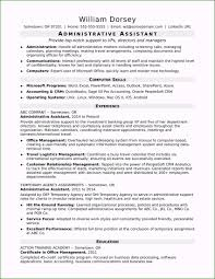 Administrative Assistant Summary Resumes Professional Summary Resume Example For Administrative