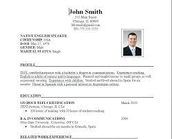 It Resume Format Pdf Free Resume Templates Download Resume Template