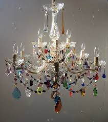 chandeliers marie therese multi coloured share a