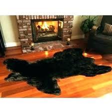 faux animal skin rugs faux animal skin rugs rug bearskin in front of fireplace designs zebra faux animal skin rugs