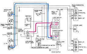 tech wiki headlight wiring datsun club 1974 620 lighting diagram