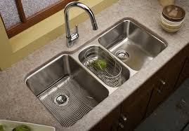 40 Functional Double Basin Kitchen Sink Home Design Lover Impressive Sink Designs For Kitchen
