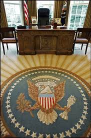 oval office carpet. Bush Sunburst Oval Office Carpet R