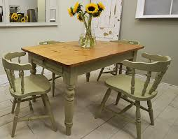 farmhouse dining table captain s chairs