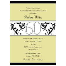 60th Birthday Party Invitation Templates Free Download Invitations