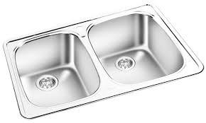 Gemini Double Bowl Top Mount Kitchen Sink T 05 Royal Bath Place