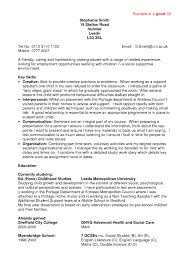 Examples Of A Good Resume Template Resume Profile Examples For College Students Profesional Resume An 13