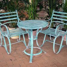 metal bistro set. Verdigris Metal Garden Bistro Set For Two Furniture U
