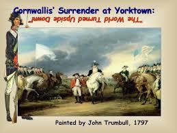 ppt cornwallis surrender at yorktown