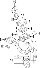 parts com® hyundai sonata engine appearance cover oem parts diagrams 2008 hyundai sonata se l4 2 4 liter gas engine appearance cover