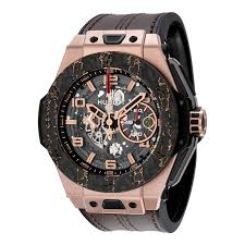 top 10 most expensive men s watches if there is a diamond watch from hublot then there is also this hublot big bang ferrari king gold for a price of 43 600 but what makes this luxury men s