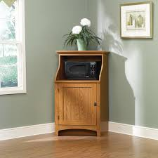 Sauder Kitchen Furniture Maple Kitchen Hutch Corner Cabinet Copenhage Custom Paint Maple