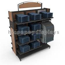 Retail Product Display Stands Mesmerizing Clothing Retail Store Wooden Display Stand From From HICON POP