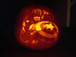 Captain America Pumpkin Designs October 2012 The Carving Blog Page 2