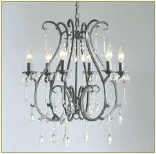iron and crystal chandelier wrought iron crystal chandelier the with regard to intended for antique wrought