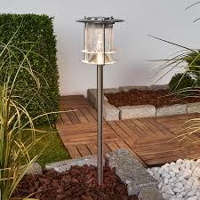 Sumaya Led Lamp Op Zonne Energie Roestvrij Staal Lampen24nl