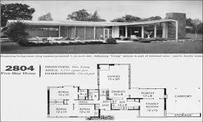 mid century modern house plans homes floor