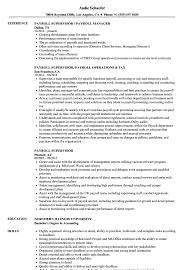 Payroll Manager Resume Sample Payroll Supervisor Resume Samples Velvet Jobs