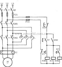 index 6 electrical equipment circuit circuit diagram seekic com automatic series reactance starting three phase motor 1