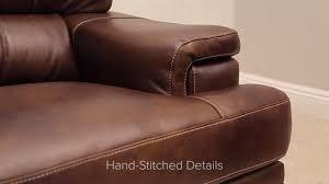 ashton top grain leather set