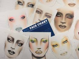 blank makeup charts for artists students and hobbyists