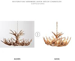 restoration hardware aspen antler chandelier 2339 vs cabela s cascade reion whitetail antler chandelier 336 restoration hardware antler chandelier