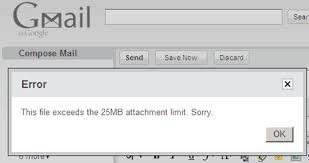 What Is Maximum Email Attachment Size Gmail Yahoo
