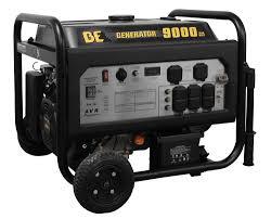 electric generator. BE Pressure 9000 Watt Generator With Electric Start