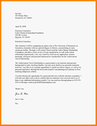 9 Bursary Letters Examples Catering Resume Vereador Jamerson
