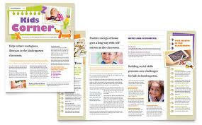 School Newsletter Template For Word Children Newsletter Template