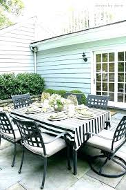 decoration outdoor patio tablecloth table cloth luxury and my summer home tour round tablecloths fitted