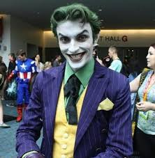 here he is without his joker makeup