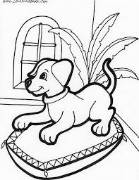 Small Picture Adorable Puppy Coloring Pages Coloring Coloring Pages