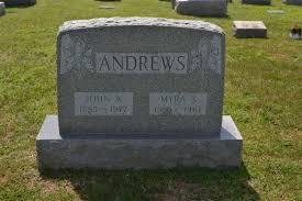 Myra Stevens Andrews (1885-1961) - Find A Grave Memorial