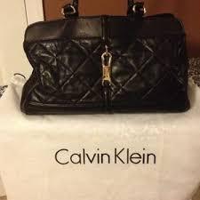 58% off Calvin Klein Handbags - Calvin Klein quilted leather bag ... & Calvin Klein Bags - Calvin Klein quilted leather bag Adamdwight.com